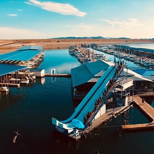 H2-WHOA Lake Pleasant   The World's Tallest Floating Waterslide